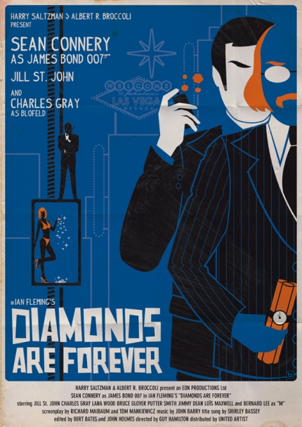 Diamonds-are-forever-James-Bond-Poster