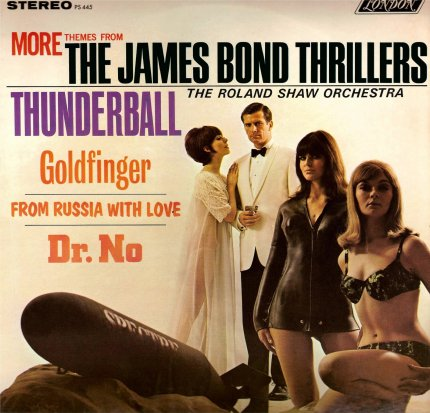 Roland Shaw More James Bond Thrillers
