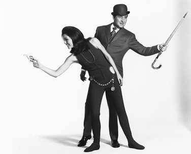 Diana Rigg and Patrick MacNee