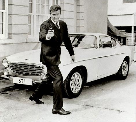 the-saint- with car