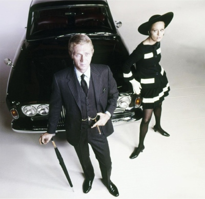 Steve McQueen and Faye Dunaway in publicity shot for The Thomas Crown Affair
