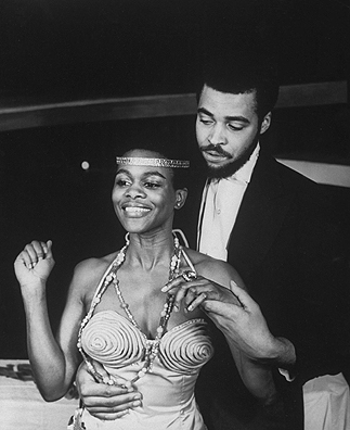 James Earl Jones and Cicely Tyson in The Blacks