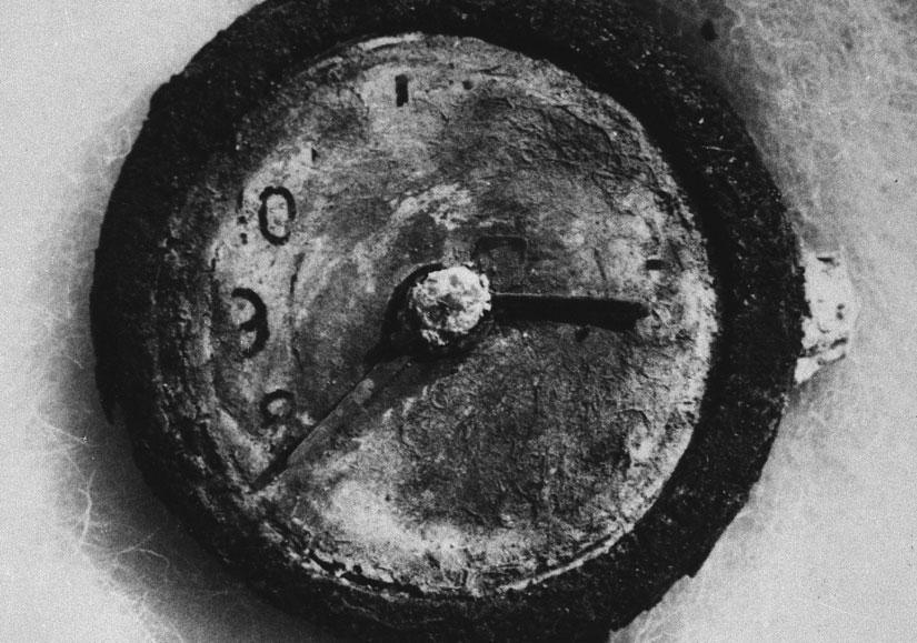 Watch from Hiroshima
