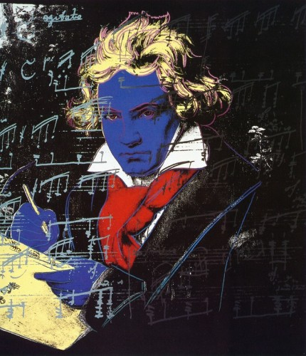 Beethoven, by Andy Warhol, 1987