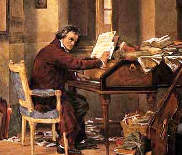 Beethoven at work