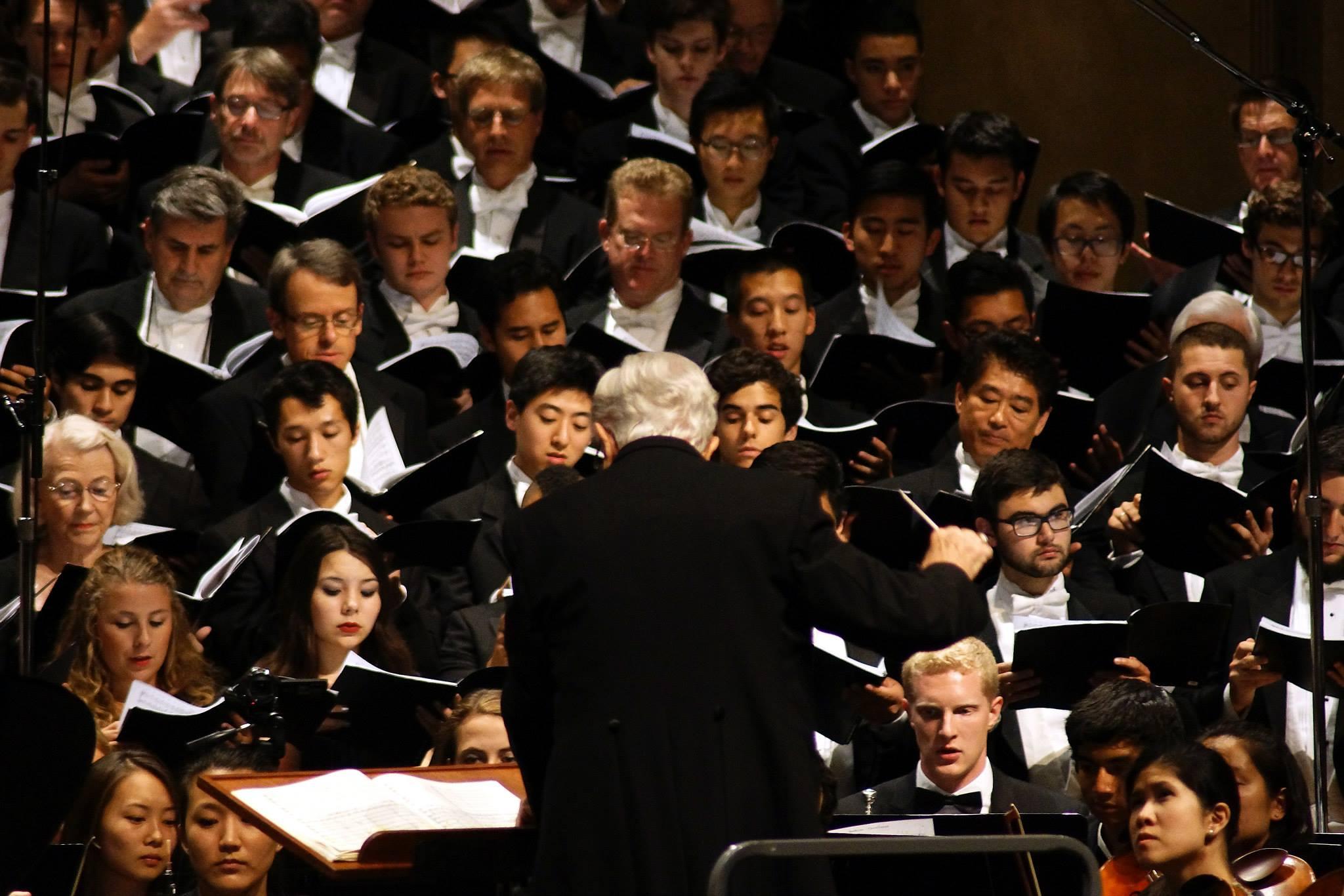 Beethoven chorale men