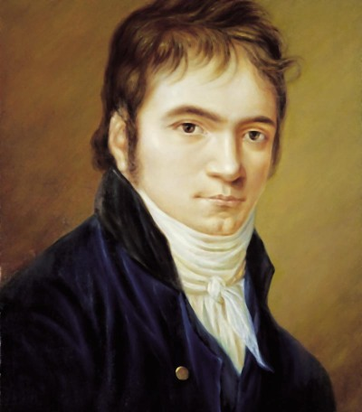 Beethoven by Hornemann, 1803