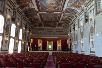 The concert hall at Eisenstadt where the Mass in C had its first performance