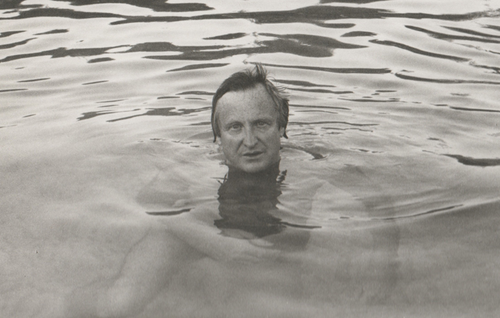 John Boorman in river